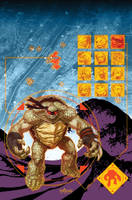 TMNT#67_cover by Santolouco