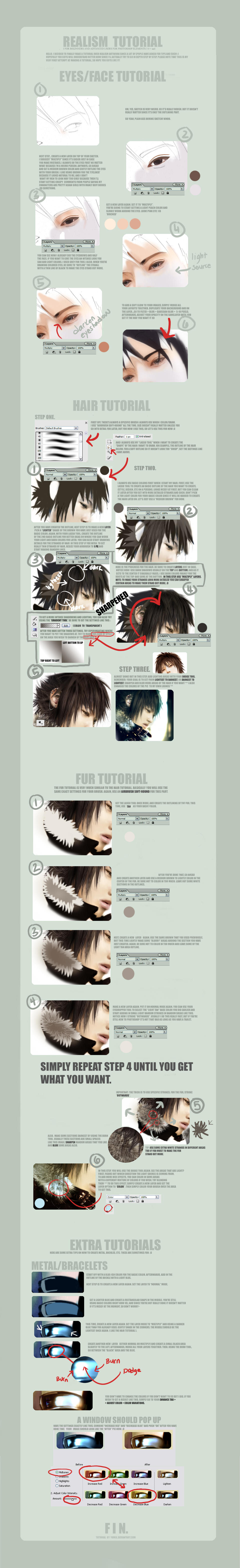 Realism Tutorial by yumix