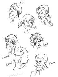 DeviantDead - Heads 3 by doodle-bugz