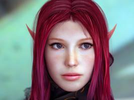 elf love part 2 by MaskDemon