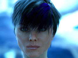 hair sss test by MaskDemon