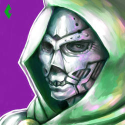 Dr. Doom by HaruKazuhira