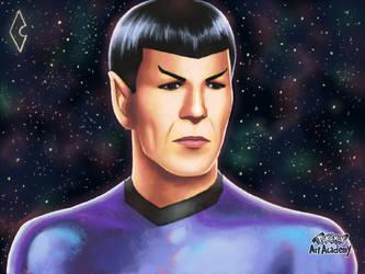 Star Trek Spock Request by HaruKazuhira