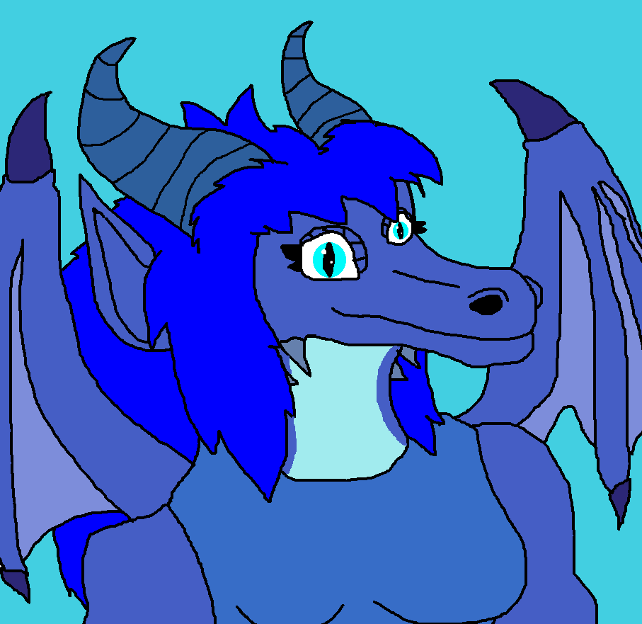 Peri Dragon Icon by Perithefox10