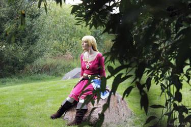 Skyloft Zelda 01 by Sarinilli