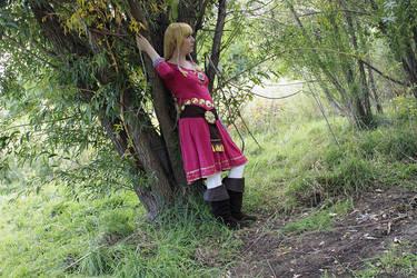 Skyloft Zelda 02 by Sarinilli