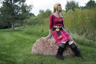Skyloft Zelda 04 by Sarinilli
