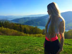 Young Lady in the Mountains by Oblivion90513