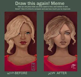 Draw it again Meme by prince6130