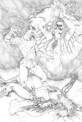 Kung Fu Satanist #1 by DeanJuliette
