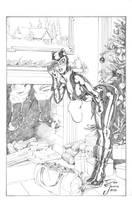 Catwoman - Christmas by DeanJuliette