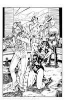 Wonder Woman / Pied Piper 02 of 03 by DeanJuliette