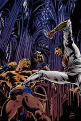 Kung Fu Satanist - Trauma Comics by DeanJuliette