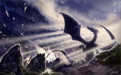Ventisquero Negro (Black Snowdrift) by Leonardo-Lambrecht