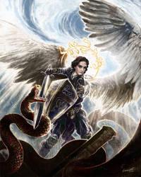 Archangel by Leonardo-Lambrecht