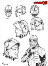 Norilsk Incident General's Helmet by carlosarielsosa