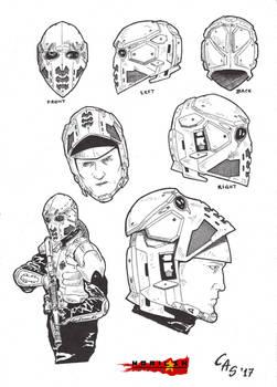 Norilsk Incident Jager's Helmet by carlosarielsosa