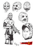 Norilsk Incident Jepsen's Helmet by carlosarielsosa