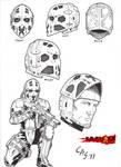 Norilsk Incident Mills's Helmet by carlosarielsosa