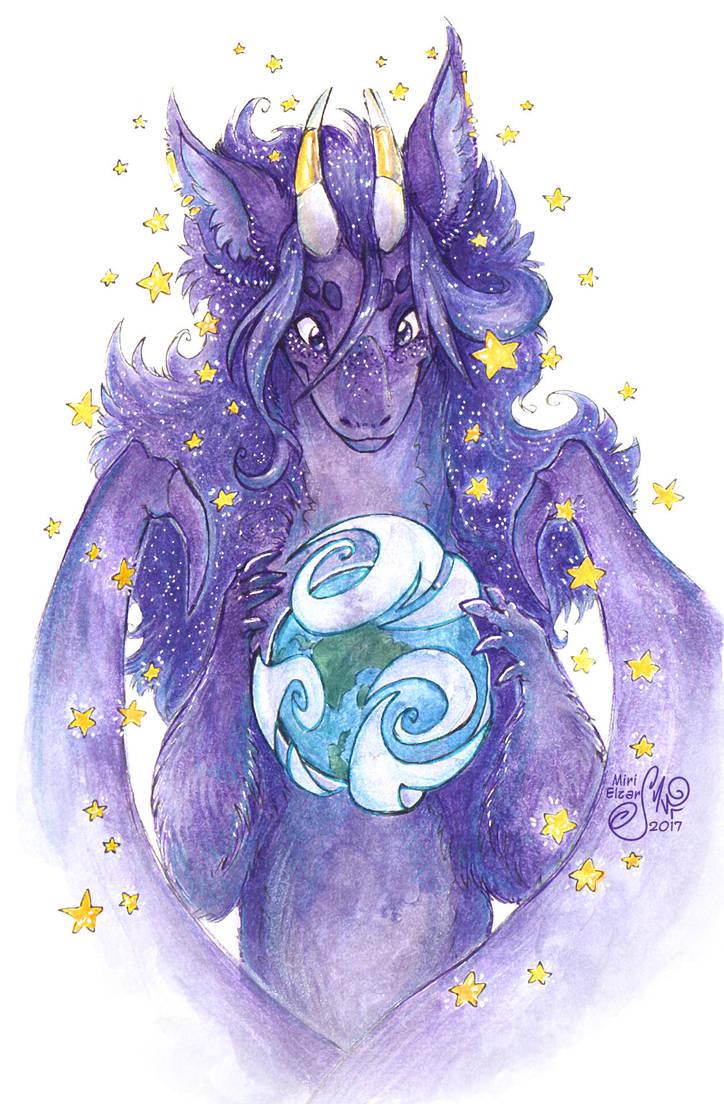Creator of tiny world by MiriElzar
