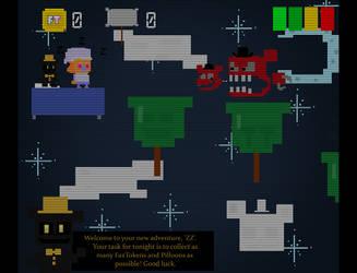 Fredland: ZZ's Sleepy Time adventure by FNAFplayer2016