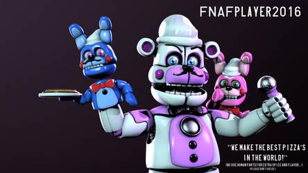 [SFM FNaF] The Italian Robots by FNAFplayer2016