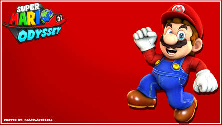 [SFM] Super Mario Odyssey Wallpaper by FNAFplayer2016