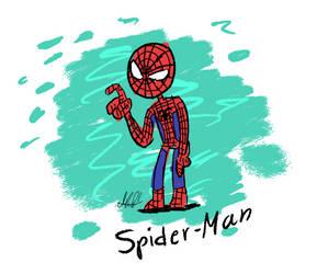 Spider-Man by FNAFplayer2016