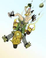 Tank Girl by Crazyskull