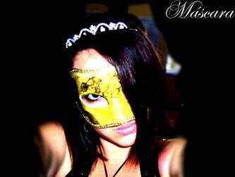 The Princess and her Mask by ex-princesita