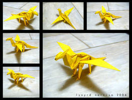 Simple Origami Dragon by blue-fusion