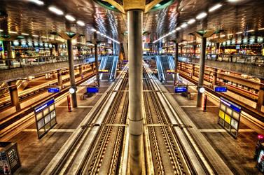 Berlin Hauptbahnhof HDR by F3rk3S
