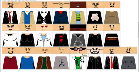 That Guy with the Glasses CUSTOM LEGO DECALS by Digger318