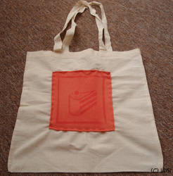Portal cake bag by Lusi-chan