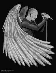 in memory of Chester by MagarNadge