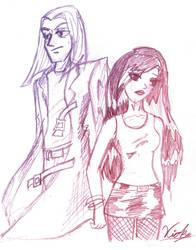 .+Maynard and Alexia+. by Vickinky