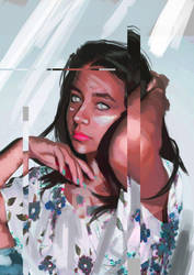 Ci-fi girl by waiolos