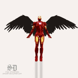 Iron-man by Mazaj2b