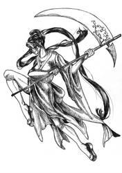 Masked Shinigami by Hikari-chyan