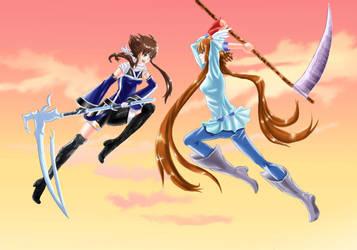 Ary vs Hikari by Hikari-chyan