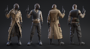 Villain Character by MacX85