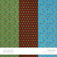 Polka Dots // Papers by pixelinmypocket