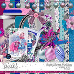 Sugar Sweet Holiday // Mini Kit by pixelinmypocket