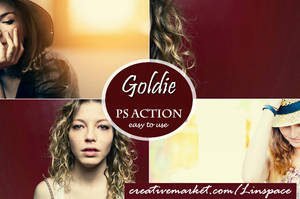 (50% off) Goldie PS Action by linspace