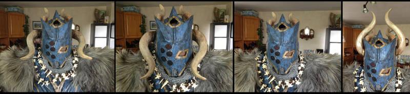 Warhammer Chaos Marauder Helmet Variation by Warsmith-Gryndal
