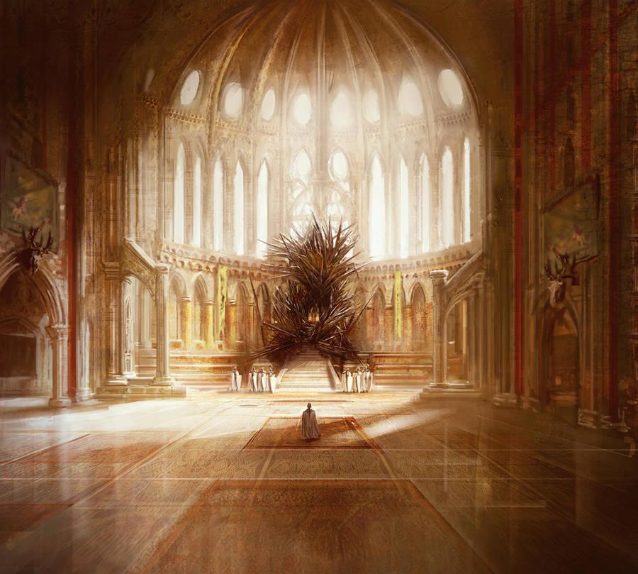 The Iron Throne, GRR Martin by MarcSimonetti