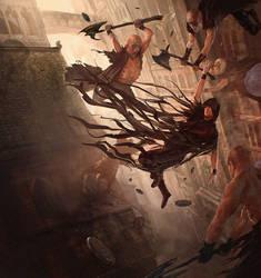 Mistborn, Final Empire, by Brandon Sanderson by MarcSimonetti