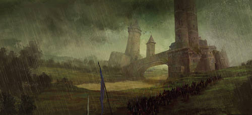 Storm of swords by GRR Martin by MarcSimonetti