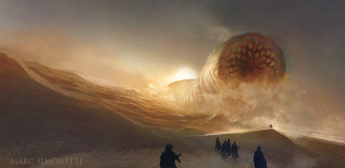Dune by MarcSimonetti