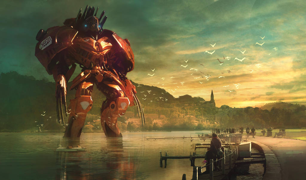 Annecy's resting Jaeger: Cheez01 by MarcSimonetti